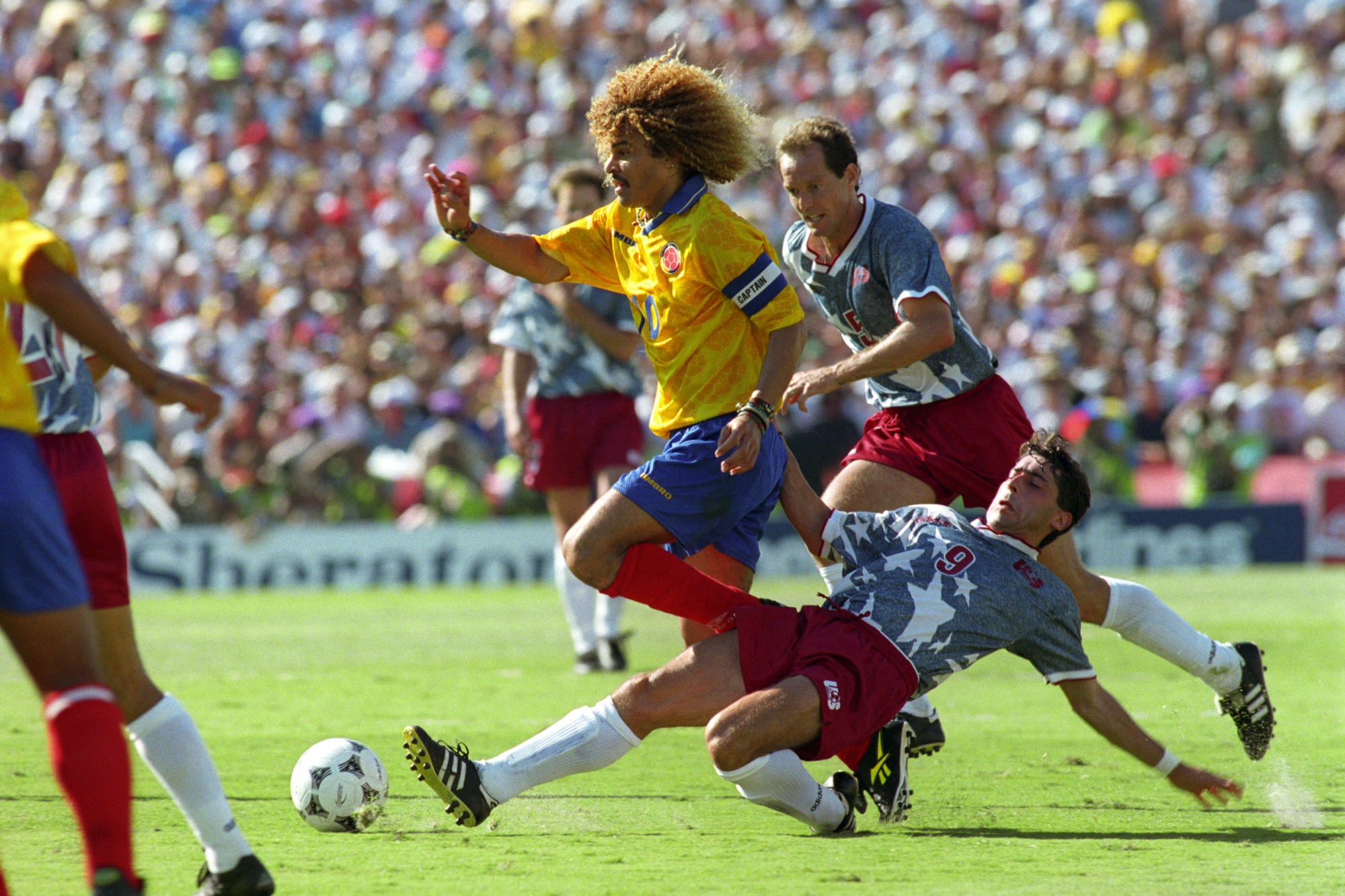Carlos Valderrama, the best player in the history of Colombia