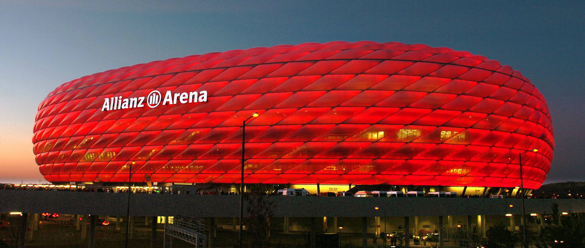 Munich's Olympic stadium gave way to the Allianz Arena