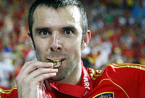 Carlos Marchena lo ha ganado todo con la selección española absoluta.