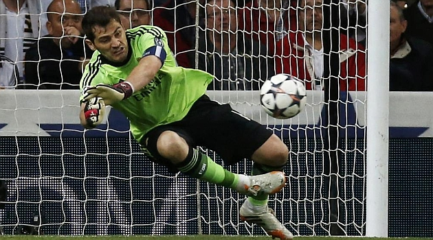 Iker again made a miraculous stop against Gotze.