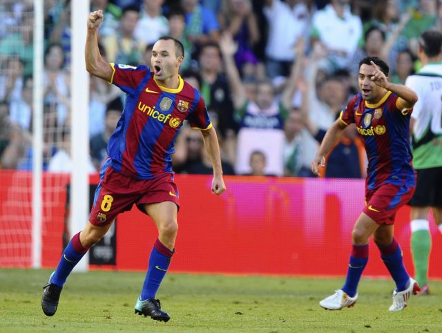 Xavi Iniesta represent the excellence of Spanish football and world.