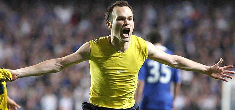 Este gol de Iniesta subió la natalidad en Cataluña.