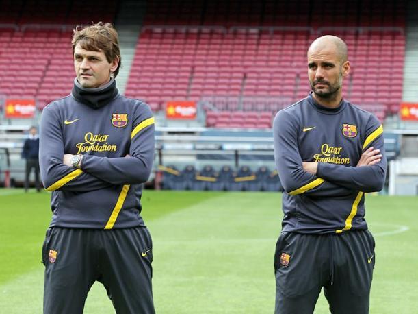 Guardiola y Vilanova formaron una dupla perfecta.