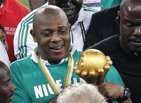Keshi ganó la Copa África 2013.