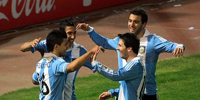 Alguien da más. Argentina tiene un ataque espectacular.