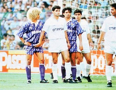 Unfortunately this is the most Valderrama was in the Spanish League.