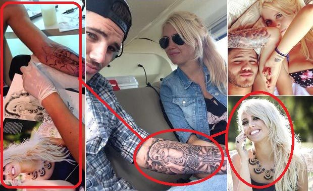 Icardi and Wanda are regulars to share their lives in social networks.