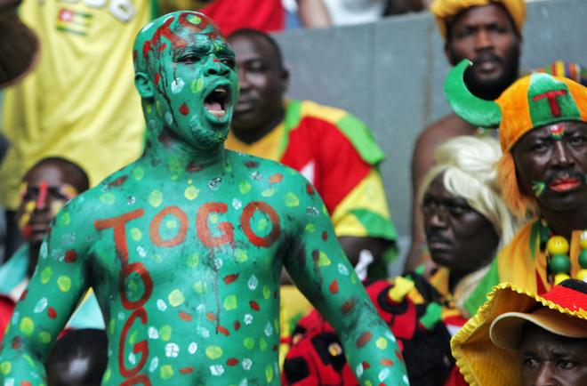 En Togo se vive el fútbol con una pasión especial.