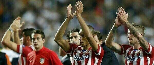 El Atlético fue camèón 94 minutos.