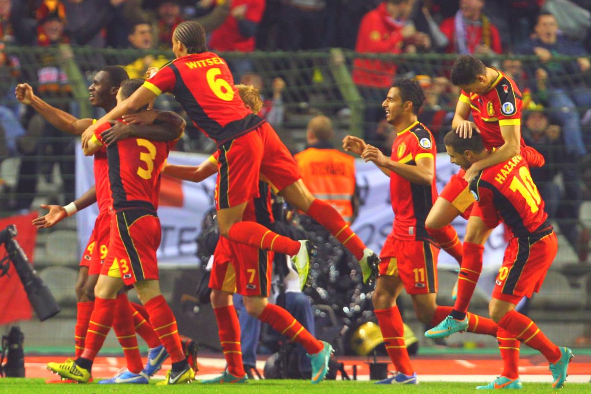 La selección belga cuenta con jugadores de muy alto nivel.