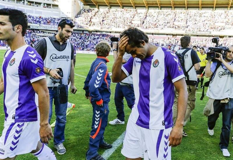 El Valladolid descendió en la última jornada.