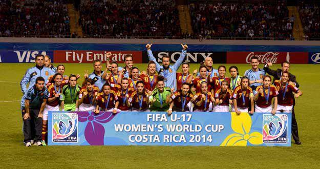 Las chicas de las Sub-17 salieron campeonas.