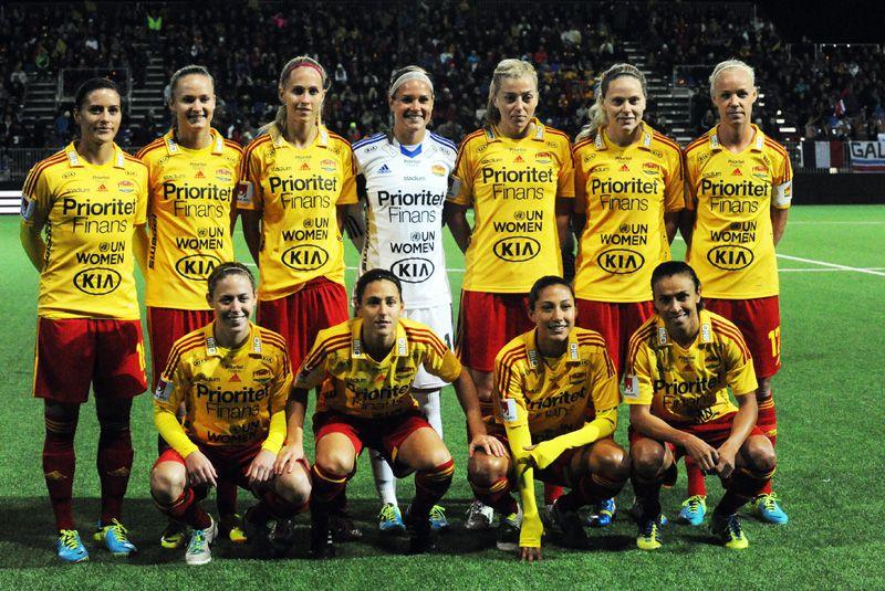 El Tyreso de Marta y Vero Boquete goleó al Barça femenino.