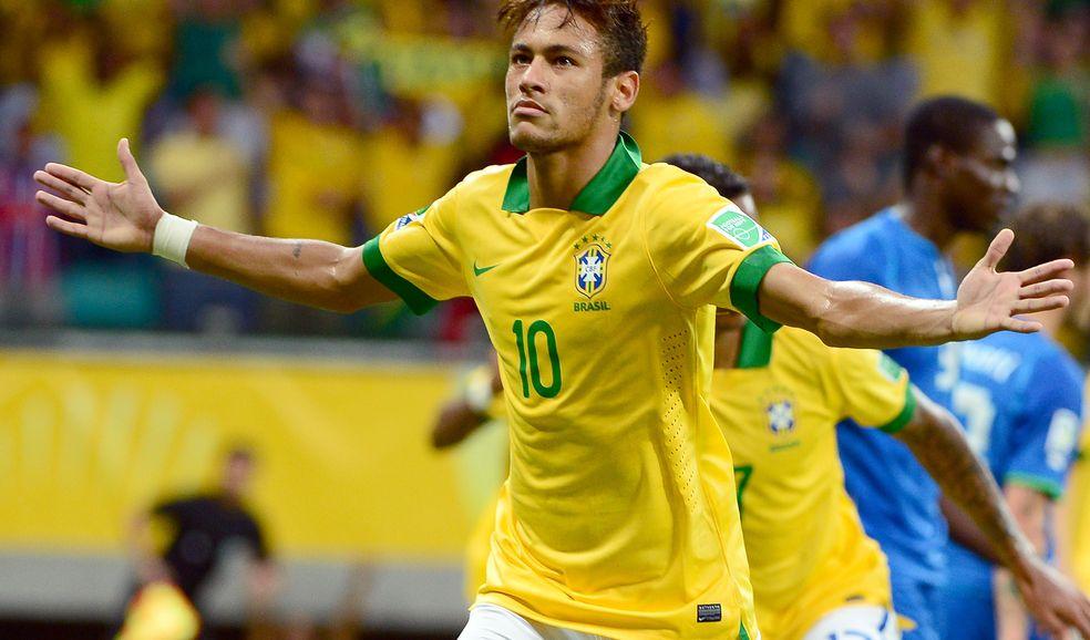 Pese a su floja temporada, Neymar espera despuntar en el Mundial.