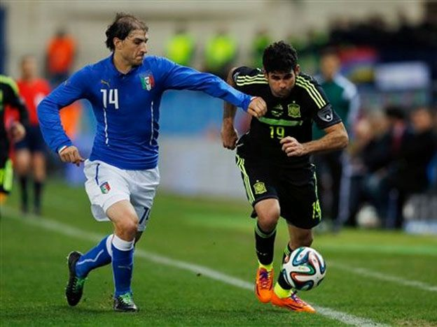 Paletta and Costa, Argentine and Brazilian in Italy-Spain.