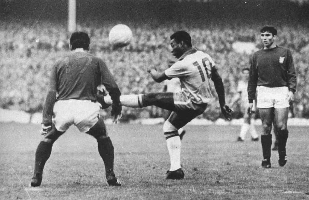 El Mundial de 1966 no fue el mejor de O´Rei.