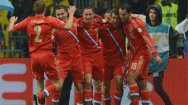 Rusia se clasificó como la mejor de su grupo.
