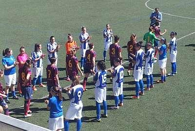 El Sporting de Huelva le hizo el pasillo al Barcelona para luego acabar con su imbatibilidad.