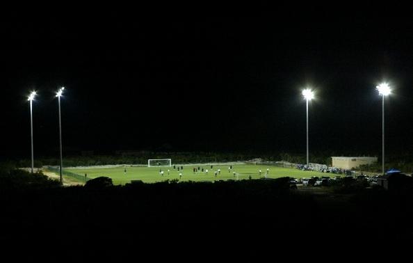 3.000 personas caben en el estadio de Turcos y Caicos.
