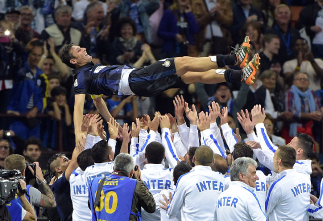 Zanneti says goodbye to Inter and football.