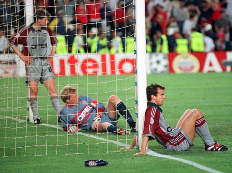 La final del 99 fue dramática para el Bayern.