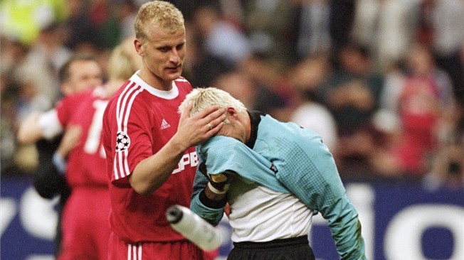 Canizares finished desolate in the final against Bayern.