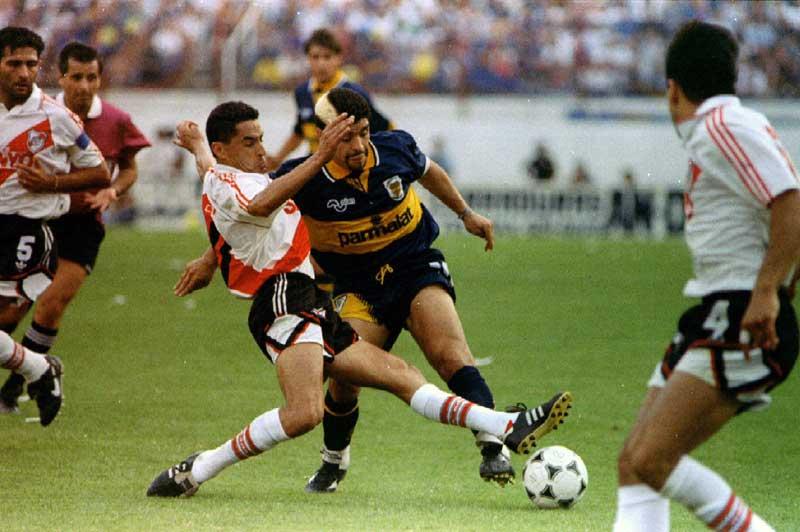 Maradona ha sido uno de los grandes jugadores de Boca.
