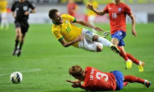 Corea en ocasiones ha mostrado juego duro.