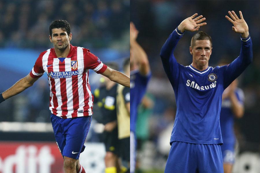 Diego Costa y Fernando Torres podrían cambiar de aires y tomar el camino contrario.