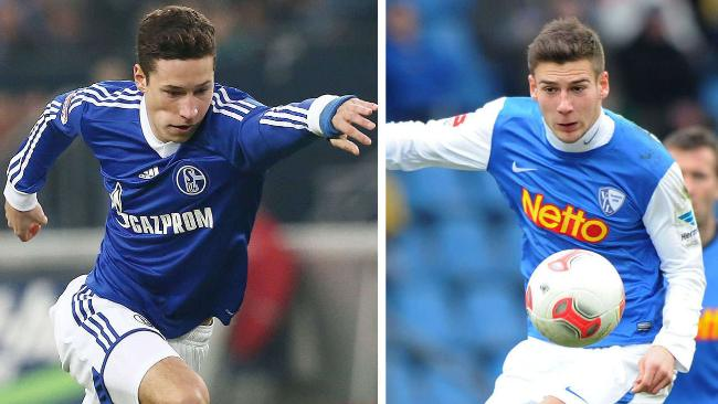 Draxler y Goretzka, dos jugadores de mucho futuro.