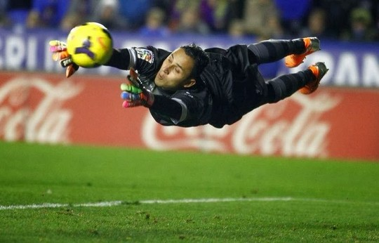 Keylor Navas has signed an excellent season.