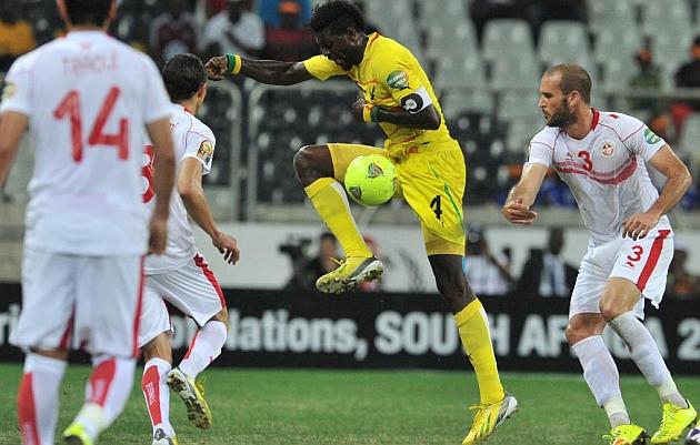 """""""Manolito"""" Adebayor es la gran estrella de Togo."""