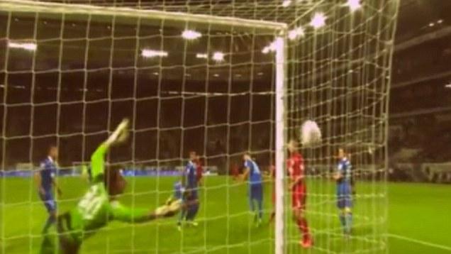 El no gol que fue gol.