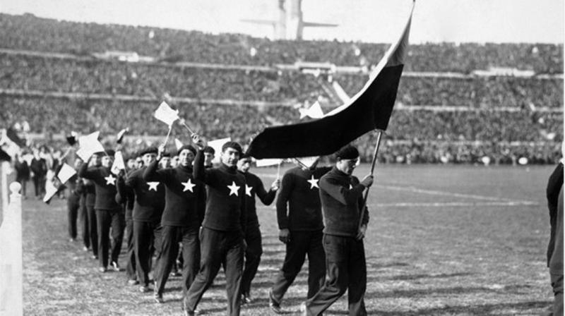La ceremonia de Uruguay 1930 fue totalmente diferente a la de los nuevos tiempos.