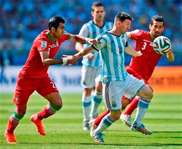 Argentina ganó a Irán por la minima con gol de Leo Messi en el último suspiro.