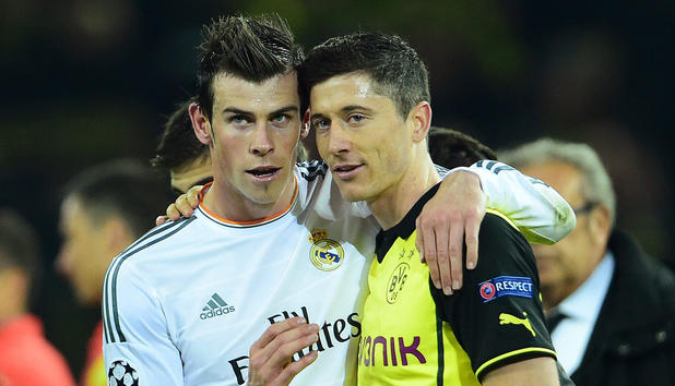 Bale and Lewandoski, two of the best in the world will not be at the World Cup in Brazil.