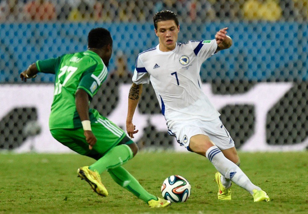 Besic has been the little good of a gray Bosnia.