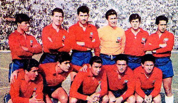 El tercer puesto en Chile 1962 es el mayor logro de los chilenos en un Mundial.
