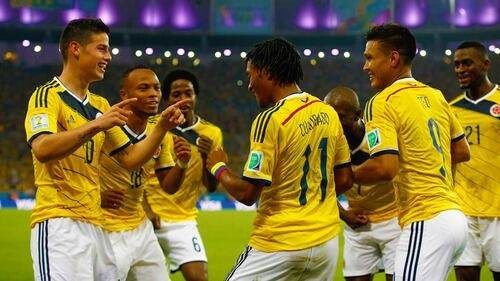 El baile de Colombia en cada gol es una de las sensaciones de este Mundial.