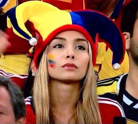 Colombia es la cara guapa de este Mundial junto con Costa Rica.