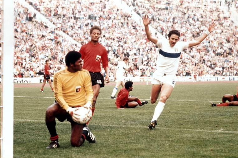 Haití se enfrentó a Italia en el Mundial de 1974.