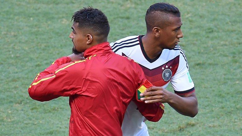 Los hermanos Boateng se volvieron a enfrentar en un Mundial. Es la segunda vez que ocurre, la otra fue en 2010.