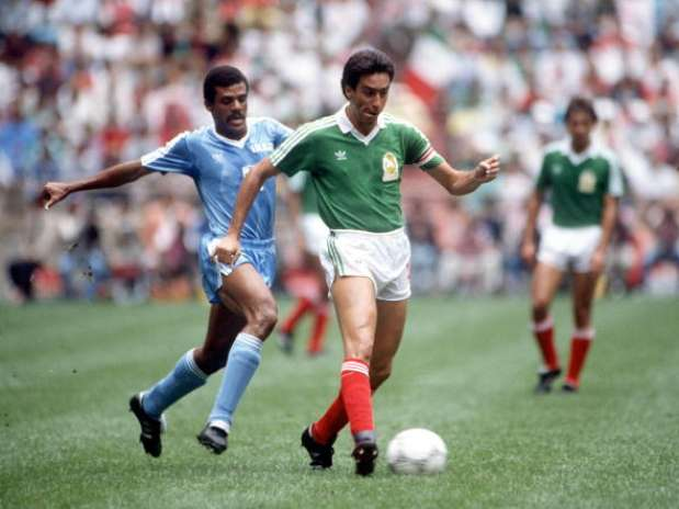 Iraq faced Mexico in the World 1986.