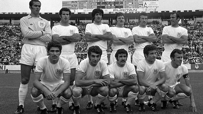 Israel participated in the World Cup in Mexico 1970.