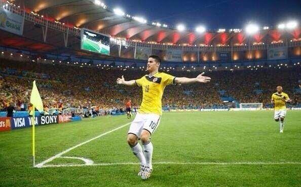 La jornada deja a James Rodríguez como máximo goleador del Mundial con 5 tantos.