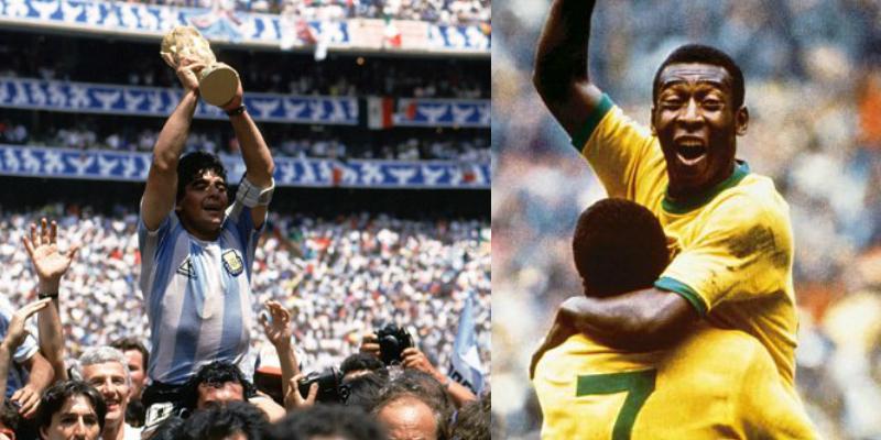El estadio Azteca contempló el encumbramiento de Pelé y Maradona.