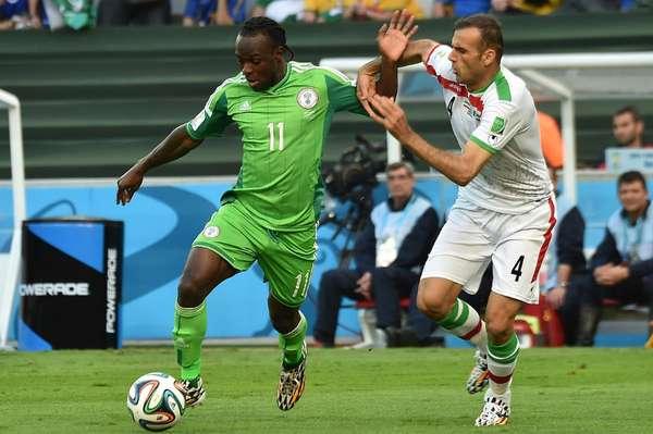 Nigeria se impuso a Irán en un partido muy disputado.