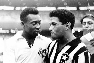 Pele and Garrincha made a lethal duo for Brazil.