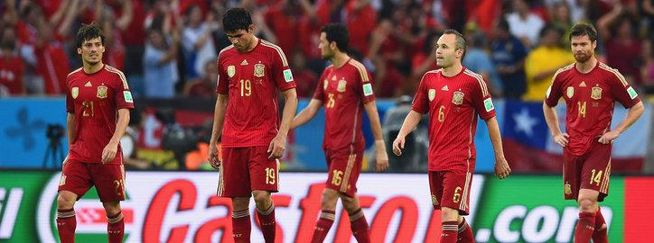 El fin de una generación. La derrota de España ante Chile.