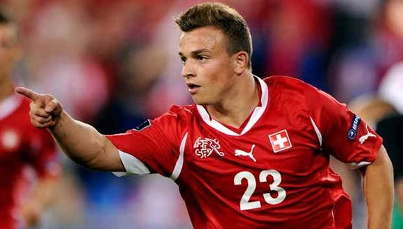 Shaqiri uno más del talentoso equipo de Suiza.